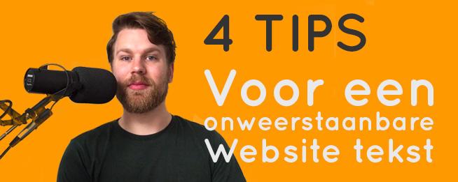 4 tips voor een onweerstaanbare website introtekst