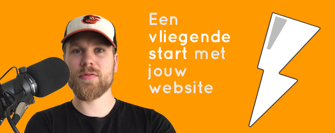 blog thumbnail vliegende start met jouw website