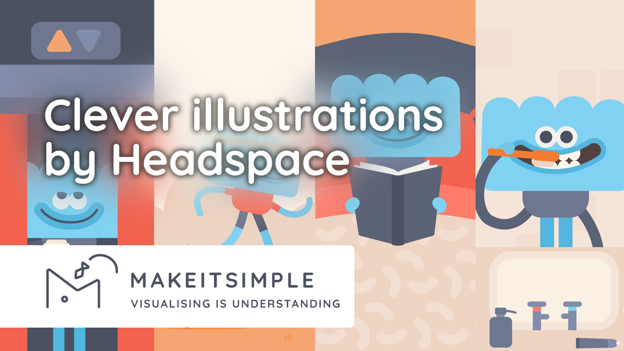 How Headspace makes clever use of illustrations