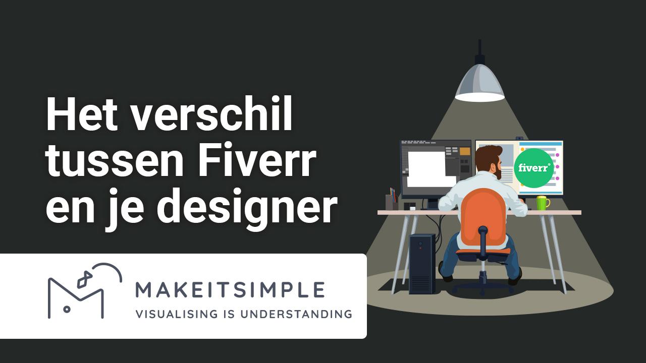 Het verschil tussen Fiverr en je designer